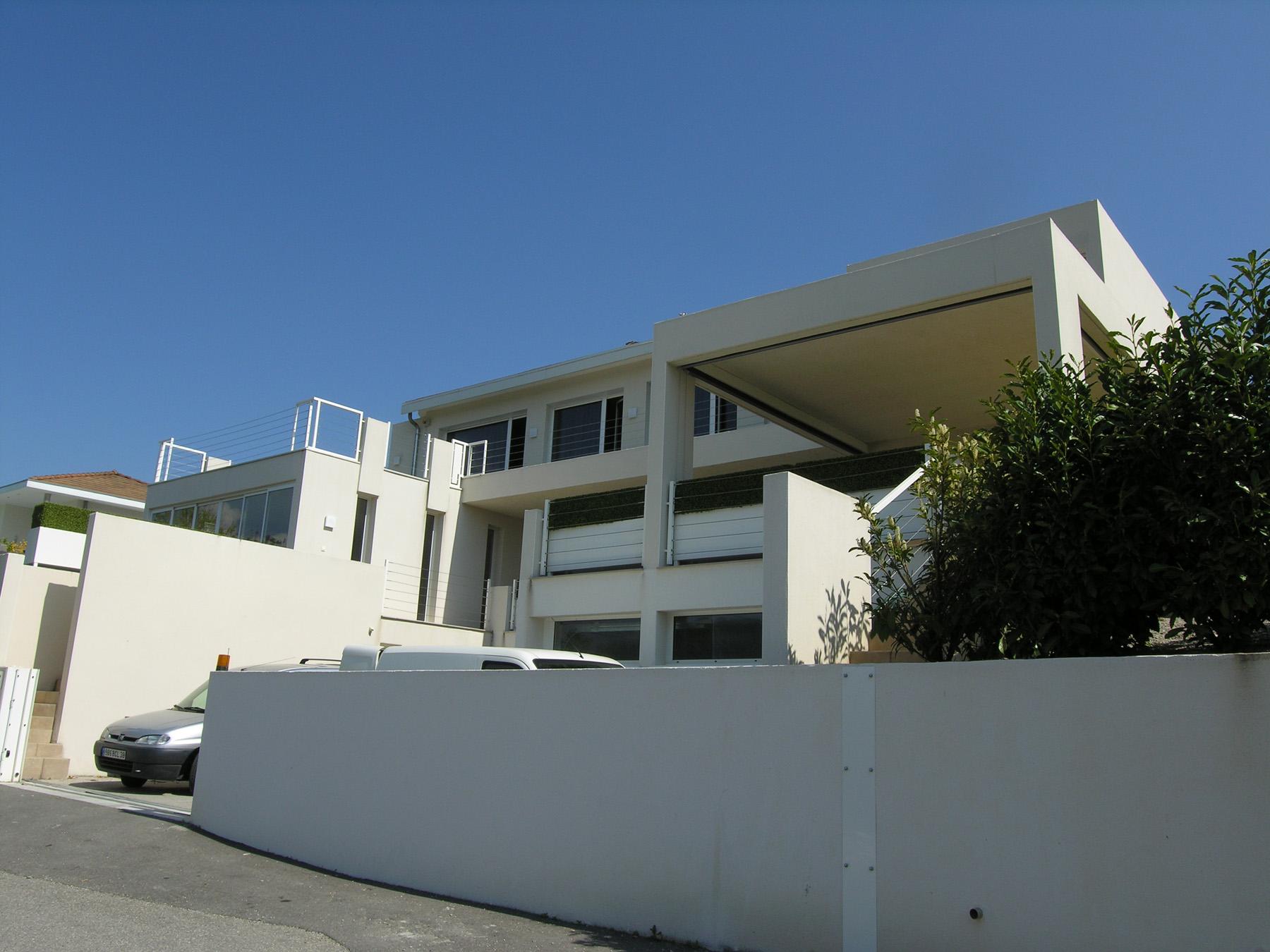 Janik architecte maison individuelle bri et angonnes 1 for Architecte grenoble maison individuelle