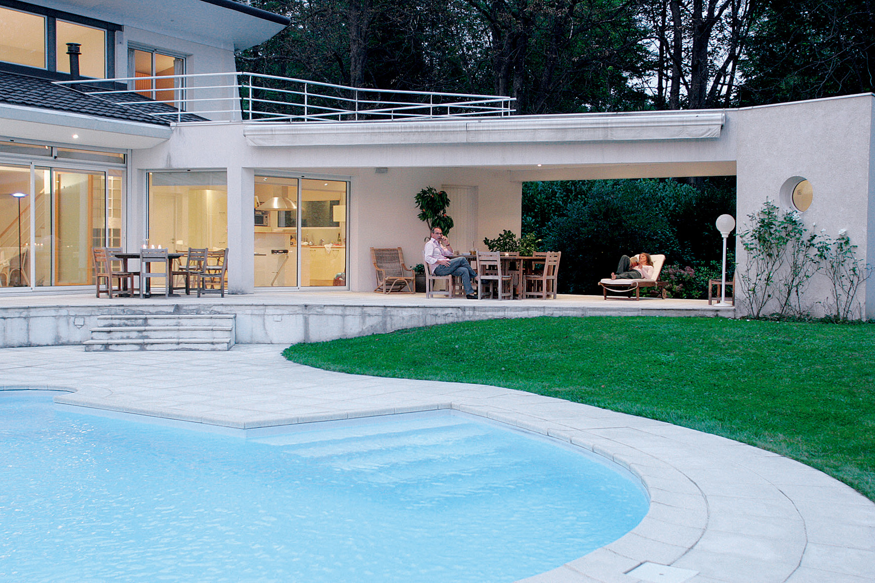 janik architecte maison individuelle meylan 1. Black Bedroom Furniture Sets. Home Design Ideas