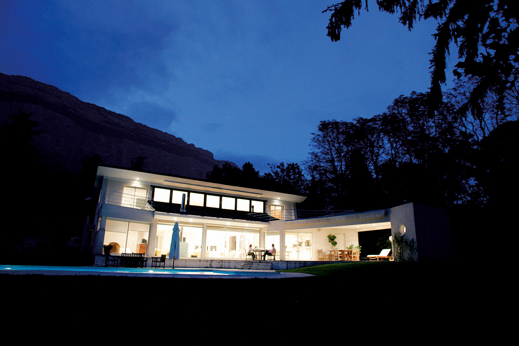Janik architecte maison individuelle meylan 1 for Architecte grenoble maison individuelle