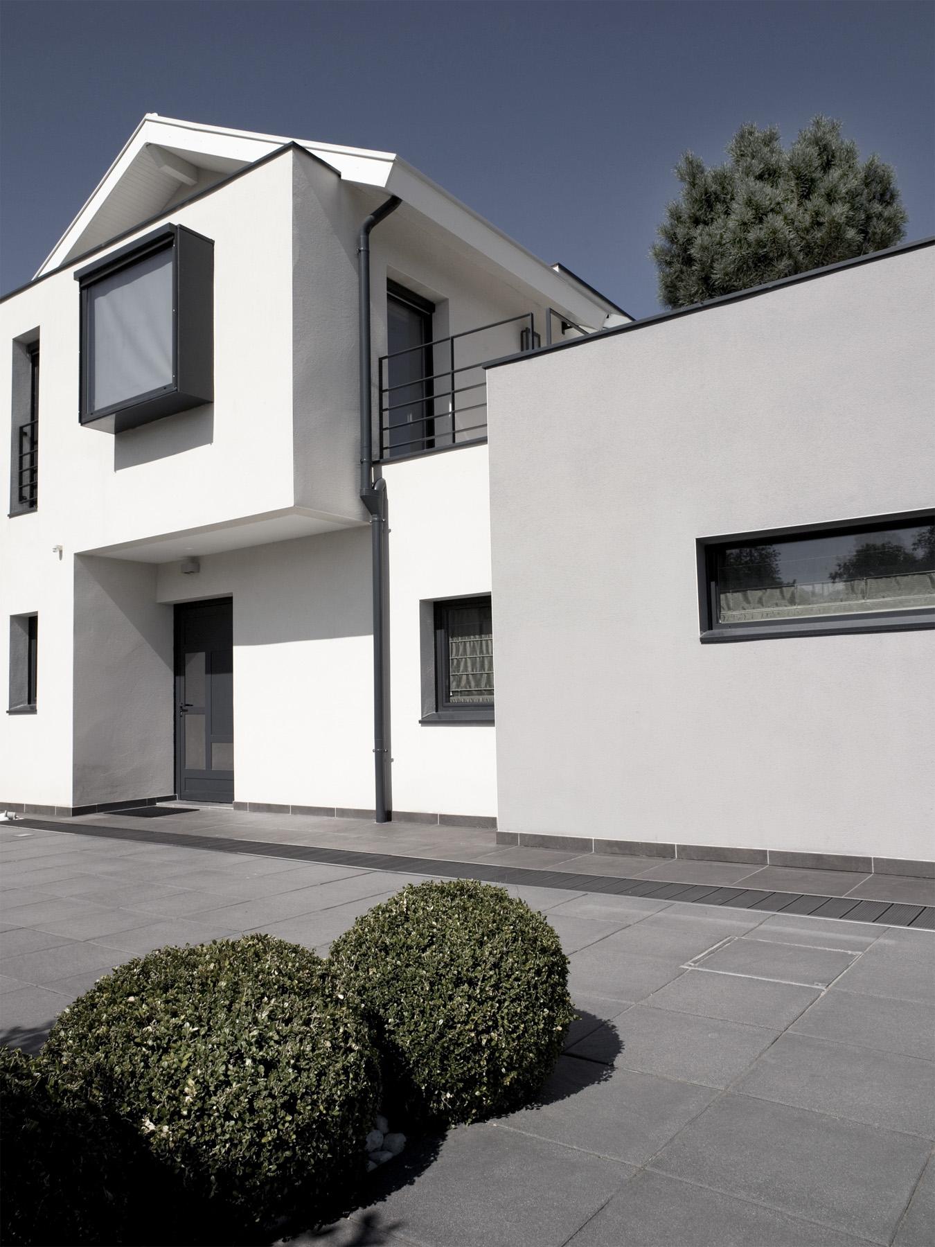 Janik architecte maison individuelle st jean en moirans 1 for Architecte maison individuelle