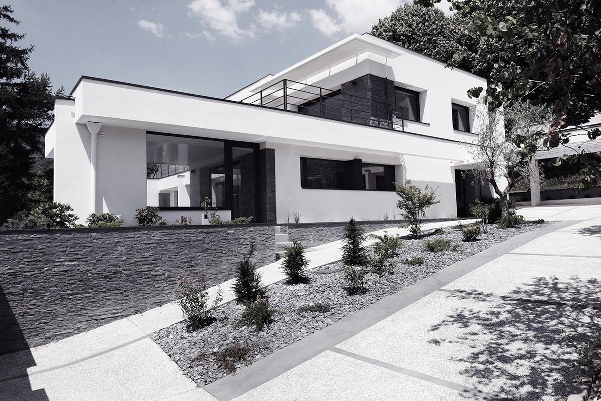 Janik architecte maison individuelle meylan 4 for Architecte grenoble maison individuelle
