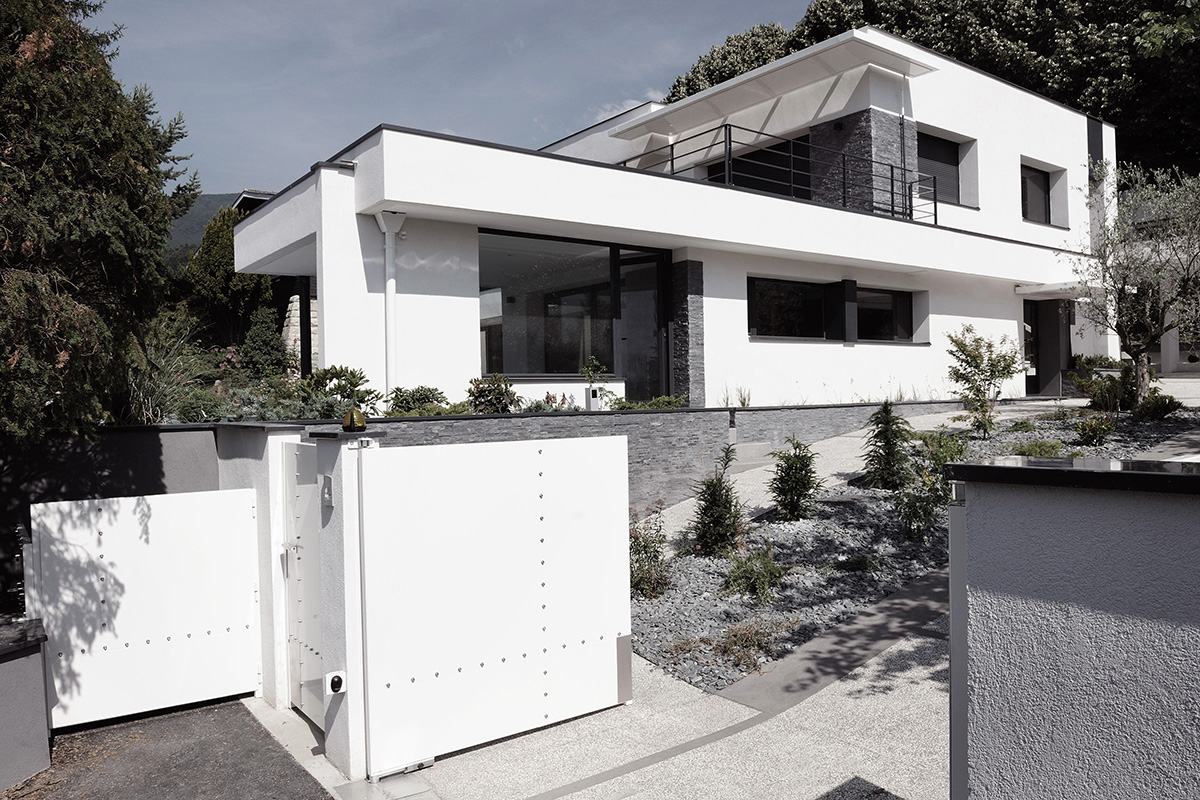 Janik architecte maison individuelle meylan 4 for Architecte de maison individuelle